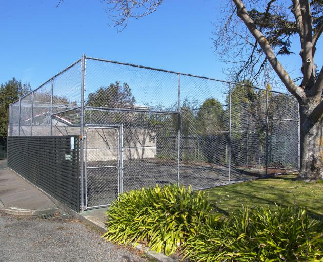 The Wilding Park volley wall has been used by many famous tennis stars including Bjorn Borg....