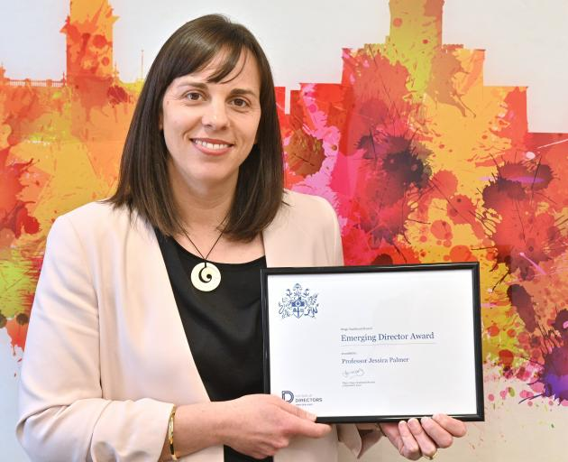 Institute of Directors Otago Southland branch emerging director award winner Jessica Palmer....
