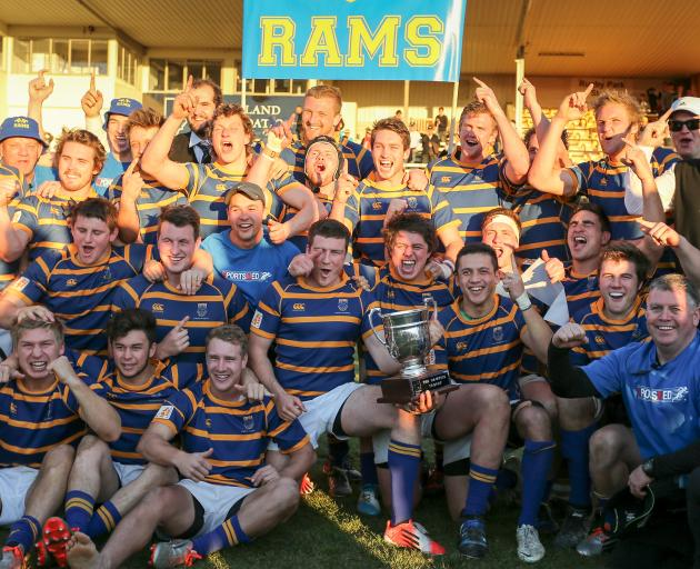 Ben Blair was on the coaching staff when Lincoln University won Christchurch's Metro Premier...