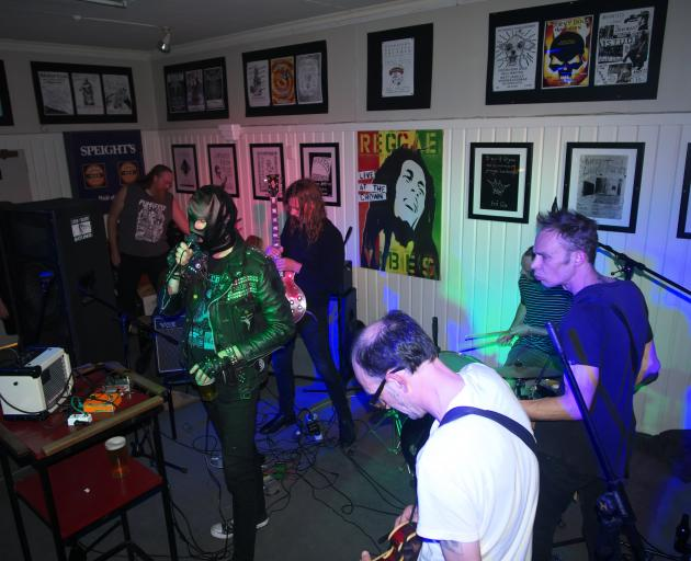 Wolfskull (above), Sewage and PSI Division play at The Crown Hotel tonight. 