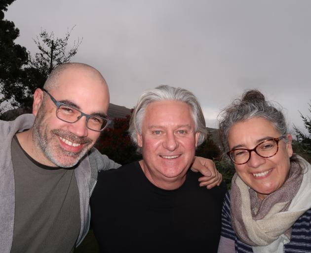 Director Peter Burger (left), executive producer Philip Smith and co-producer Lisa Chatfield.