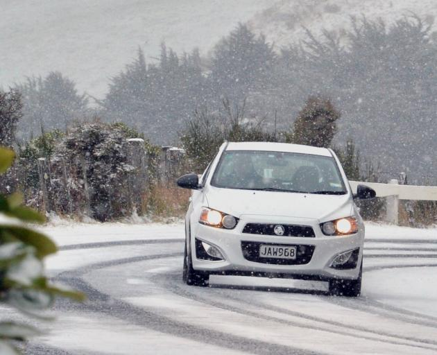 Heavy snow is forecast to fall in parts of the South. Photo: Getty Images