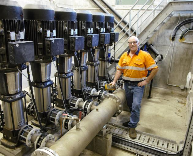 Ward Jones, of MacNeil Jones Pumps, says water infrastructure needs to be looked after and...