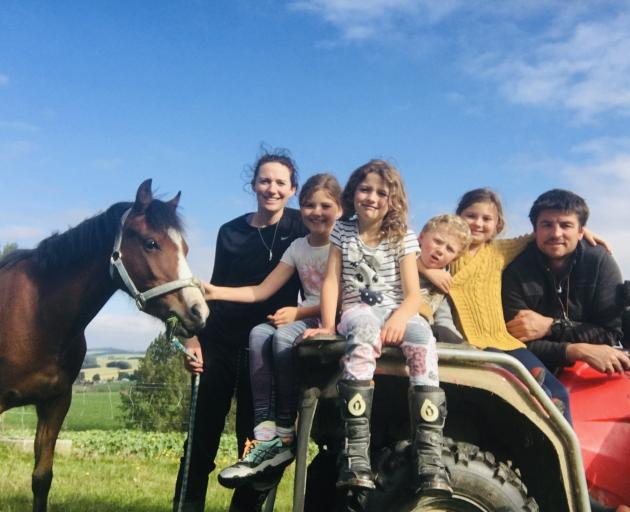 Bridget Tweed says working off-farm helps her to appreciate her family unit and the precious...