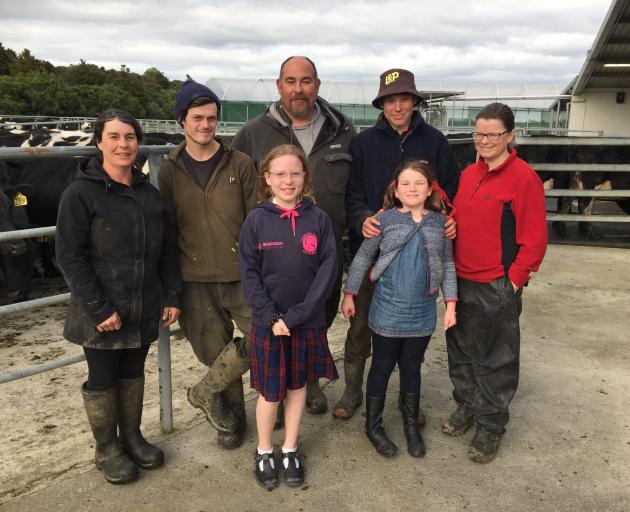 Running the Telford dairy farm is a family affair for manager ...