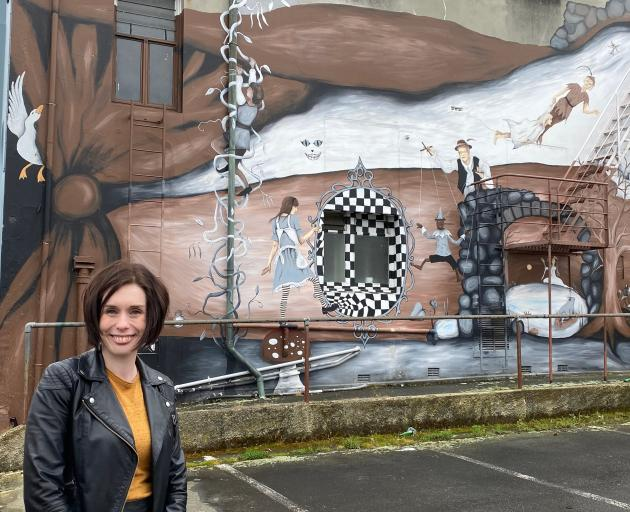 Dunedin Repertory Society vice-president Jemma Adams is leading a project to repair the roof of...