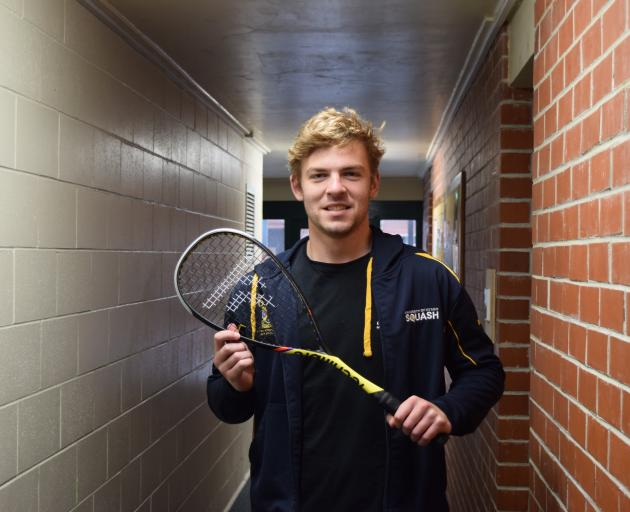 .University of Otago Squash Club president Robert Fridd is pleased the club is allowed to remain...