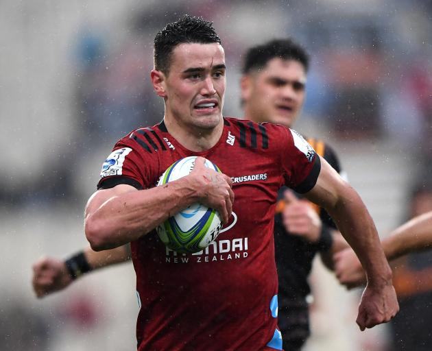 Will Jordan of the Crusaders is a new name in the All Blacks squad. Photo: Getty Images