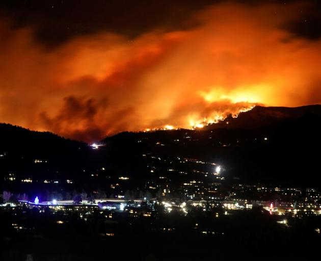 The Cameron Peak Fire, the largest wildfire in Colorado's history. PHOTO: REUTERS