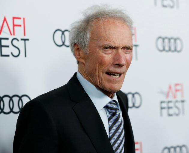 Director Clint Eastwood at a film premiere in Los Angeles last year.