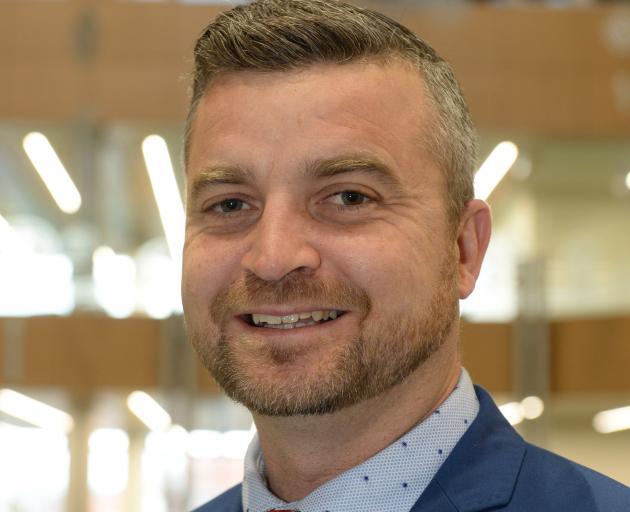 University of Otago chief operations officer Stephen Willis.