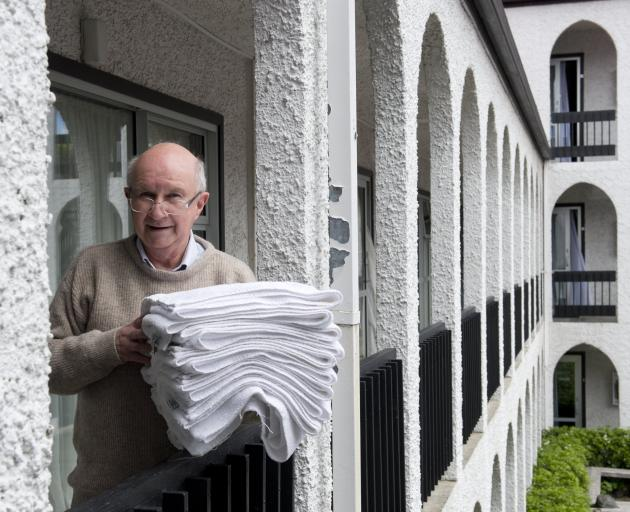 Alcala Motel owner Gary Perreau said Labour Weekend was ''busy but not flat out''. Business had...