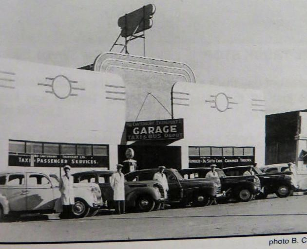 The former Mid Canterbury Transport garage and depot on Moore St. Photo: Ashburton Courier