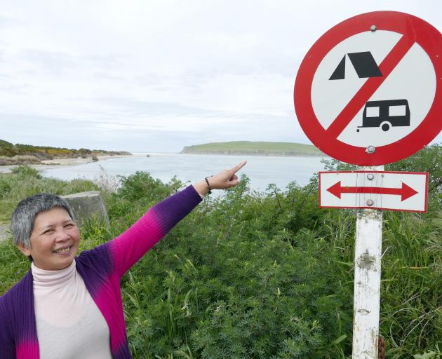 Surat Bay Lodge owner Esther Johnson says she would welcome the more stringent freedom camping...