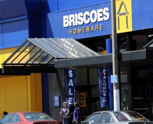 Briscoes in Dunedin. Photo: ODT