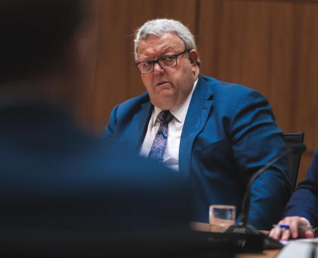 National Party Covid-19 Border Response spokesperson Gerry Brownlee. Photo: RNZ