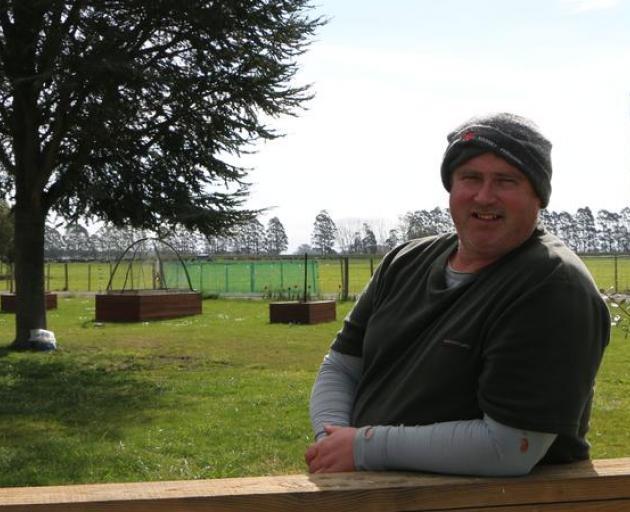 Canterbury dairy farmer Chris Ford. Photo: RNZ