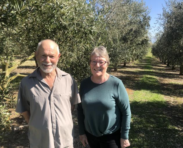 Alan and Anita Blakemore's local market profit has risen in comparison to last year. PHOTO:...