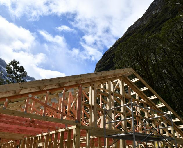 The new Mintaro Hut is on track to be open by March.