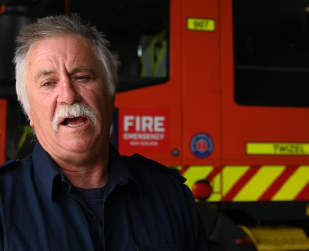 Twizel fire chief Simon Fox had not seen a fire the size of the Ohau blaze in his 21-year career....