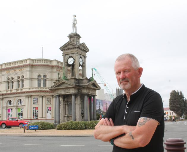 Nobby Clark stands on the corner of Dee and Tay Sts, Invercargill. Mr Clark has been selected by...