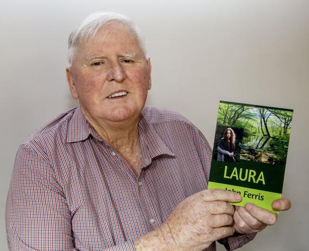 John Ferris with his book. Photo: Geoff Sloan