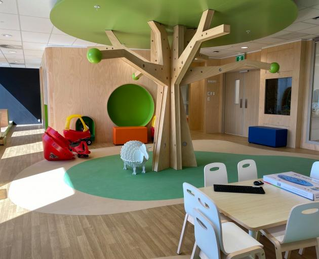 A child health care area is set to open at the new Christchurch Hospital. Photo: Supplied