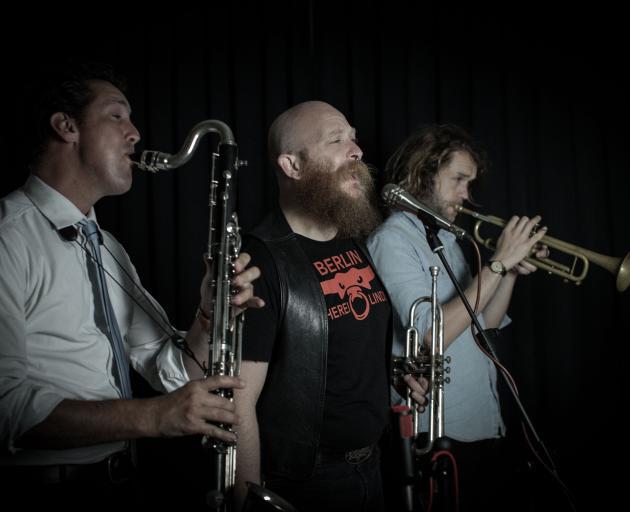 Hopetoun Brown duo Nick Atkinson (left) and Tim Stewart's upcoming Oamaru Opera House concert...