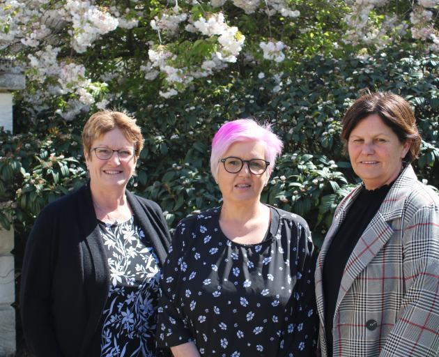North Otago women (from left) Sue Fraser, Raelene Guthrie and Belinda Spivey have set up a...
