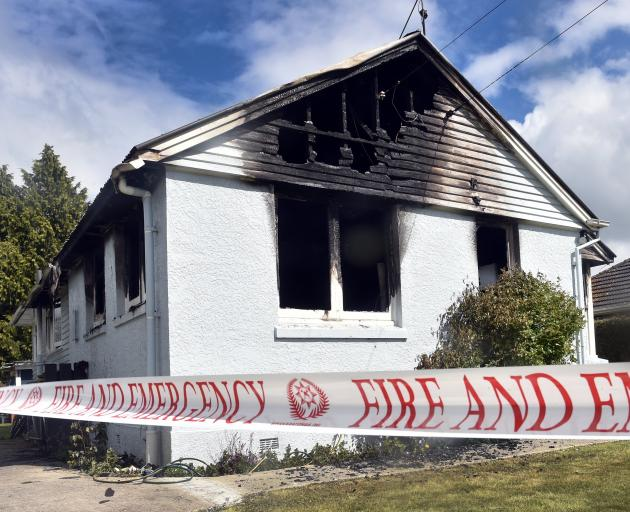 The fire is believed to have started in the kitchen.
