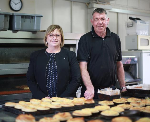 Sharon and John Greaney are looking forward to celebrating 70years of the family business, Peter Pan Bakery and Cafe, next week. PHOTO: REBECCA RYAN