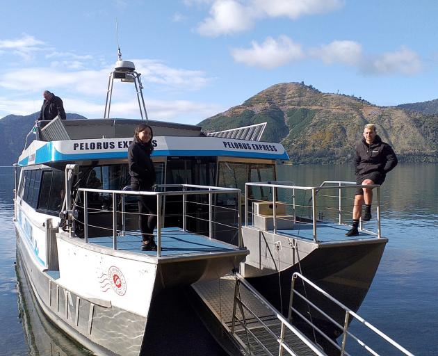 The Pelorus mail boat also does tours.