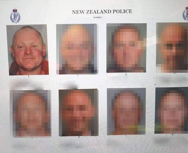 The lineup featuring Kurt Wyber. Photo: Supplied via NZ Herald