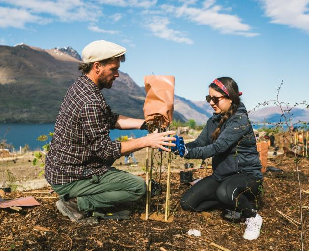 Queenstown residents Franco Nobell, originally from Argentina, and Daniella Mercado, from Mexico,...