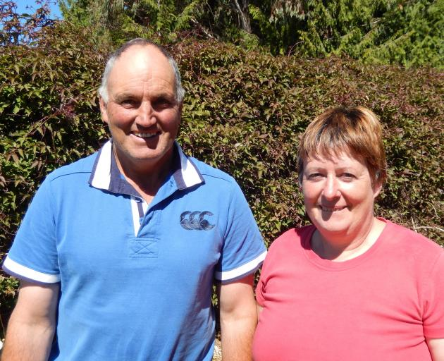 West Otago farmers Richard and Kerry France. PHOTO: SUPPLIED