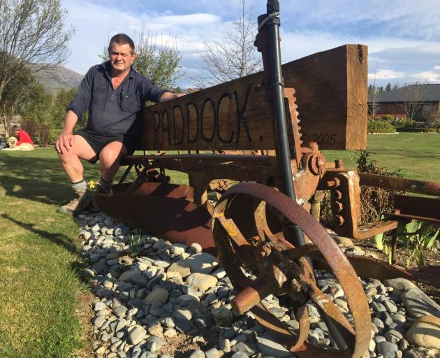 John Osborne, chairman of the Upper Clutha group of ploughing enthusiasts, which is hosting the...