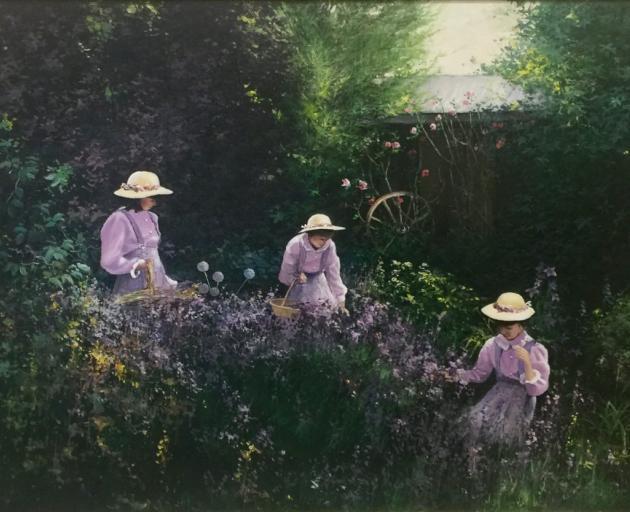 The Lavender Garden, by Denis Kent