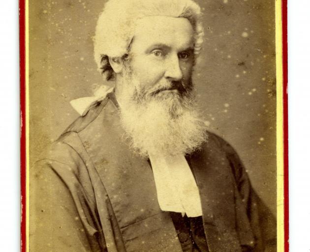 Thomas Bannatyne Gillies. PHOTO: COLLECTION OF TOITU OTAGO SETTLERS MUSEUM