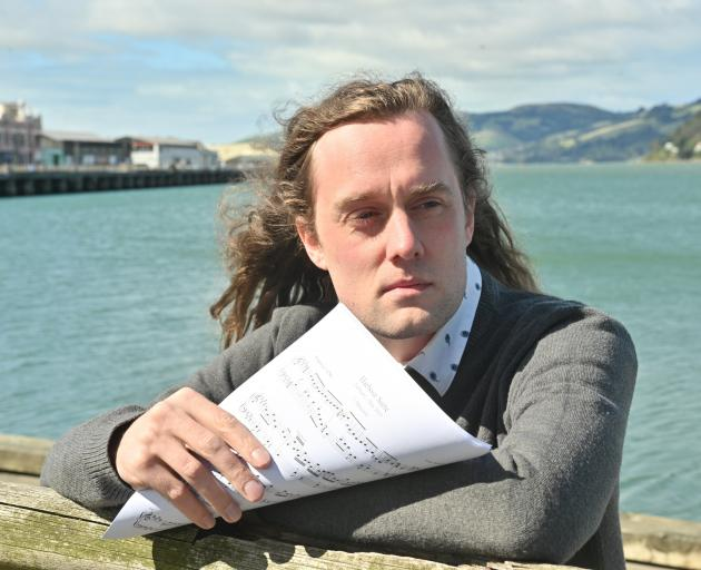 Dunedin composer Tom Jensen has composed a piece of music based on his memories of Otago Harbour....