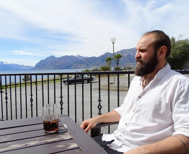 Wanaka Ode organic restaurant owner Lucas Parkinson is closing his doors early next month. PHOTO:...