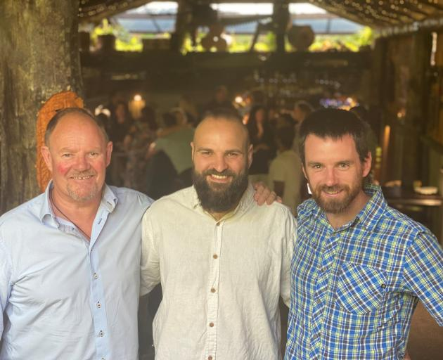 Marking the end of another successful Eat.Taste.Central campaign are (from left) Tourism Central...