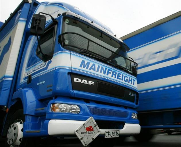 A total of 75% of Mainfreight's revenue  was earned outside New Zealand. Photo by NZ Herald.