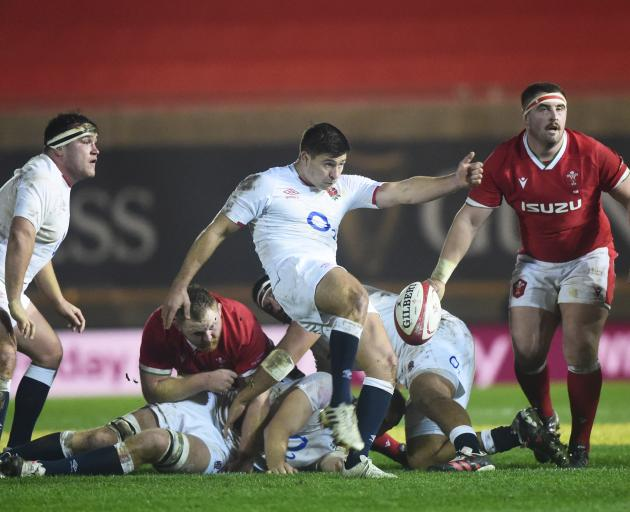 England did just about enough to subdue a spirited but limited Wales with a 24-13 victory in Llanelli. Photo: Reuters