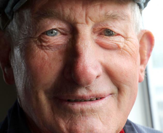 Life member Neville Hazlett at the West Otago A&P Society's 107th annual show in Tapanui on...