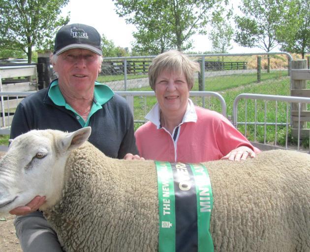 Ashburton farmers Paul and Kay Gardner won the ...