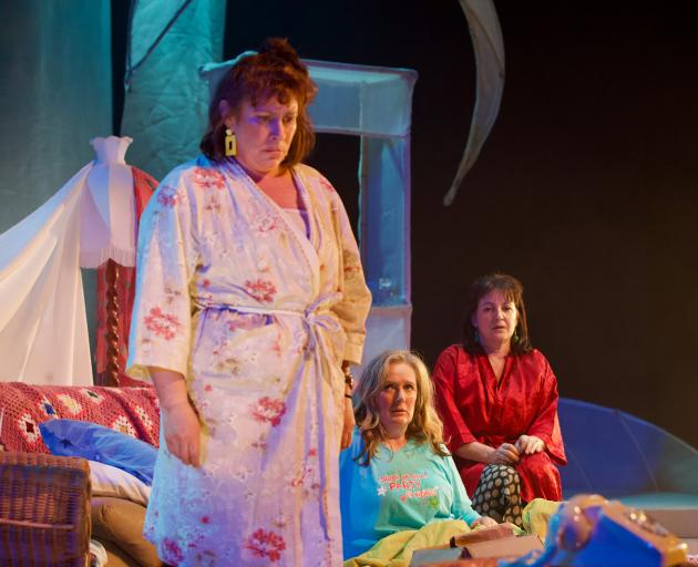 Julie Edwards, Lara Macgregor and Jodie Dorday relieve their late teens in Di, Viv and Rose...