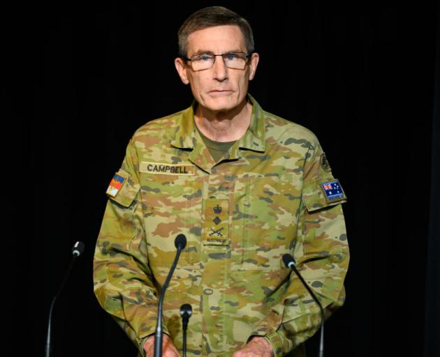 General Angus Campbell. Photo: Getty Images