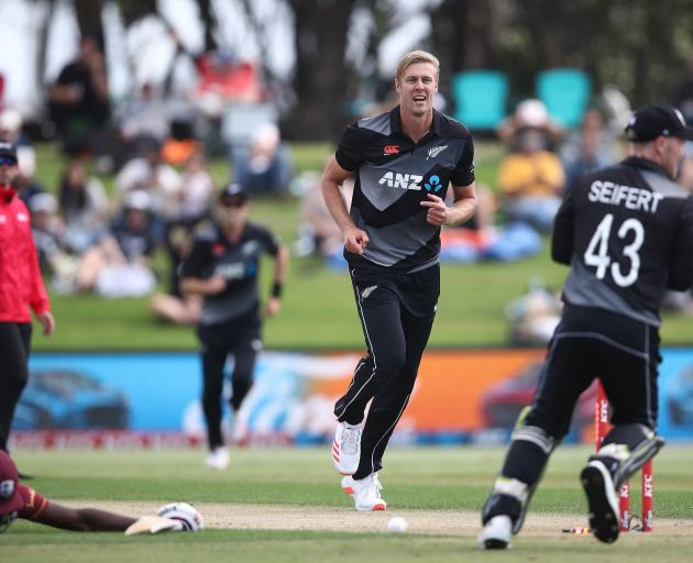 Black Caps quick Kyle Jamieson continued his impressive start at international level, claiming 2...