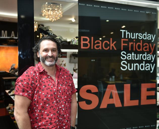 Maher Shoes owner Glen Maher says his stores are already doing well having started Black Friday...