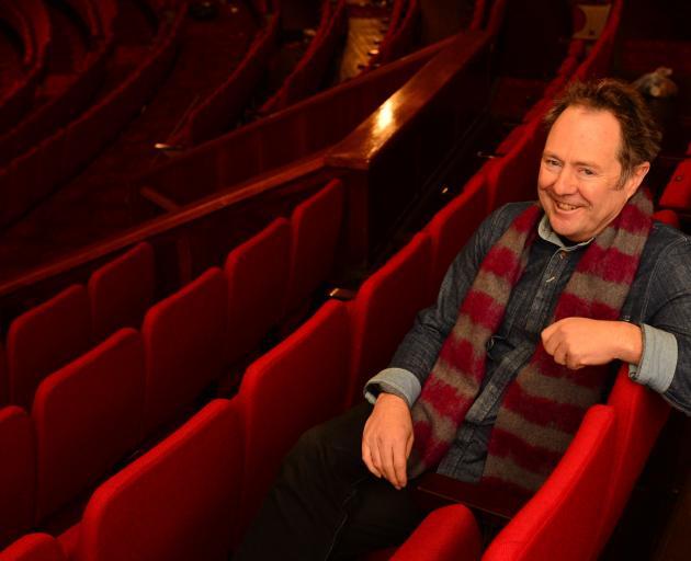 Bill Gosden at Dunedin's Regent Theatre. Photo: ODT files